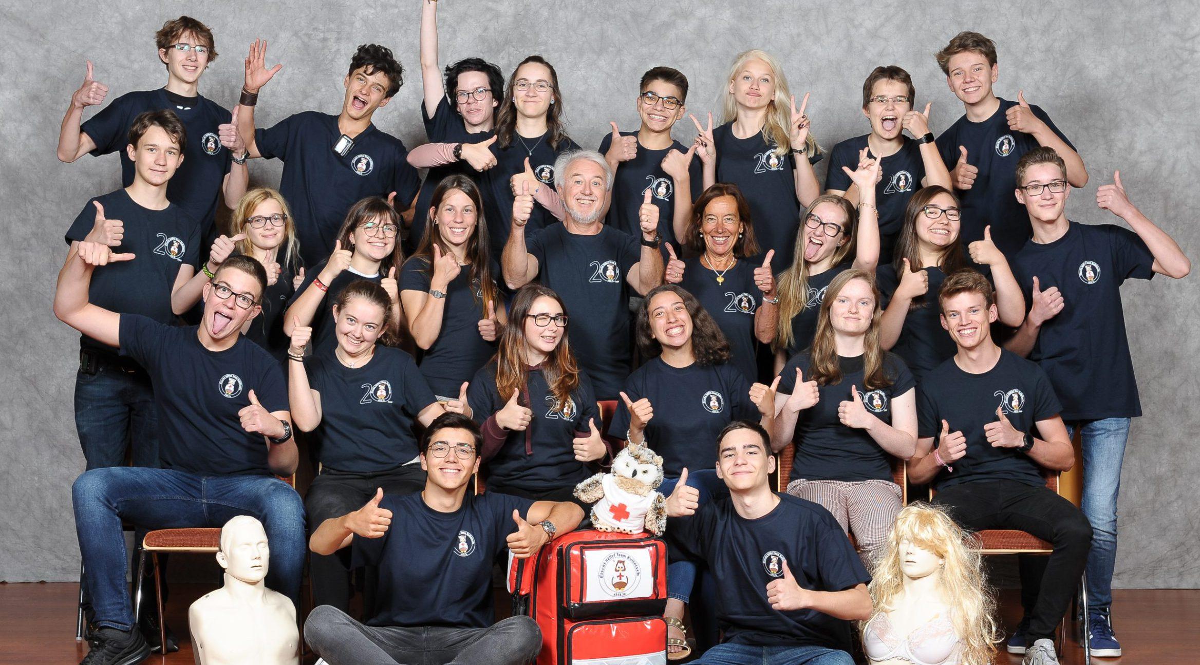 Header Image - Éischt Hëllef Team Kolléisch